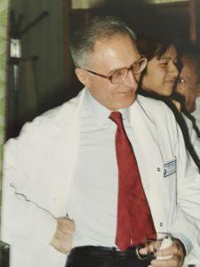 Prof Jean Lapresle,1984 Hopital Bicetre, Paris